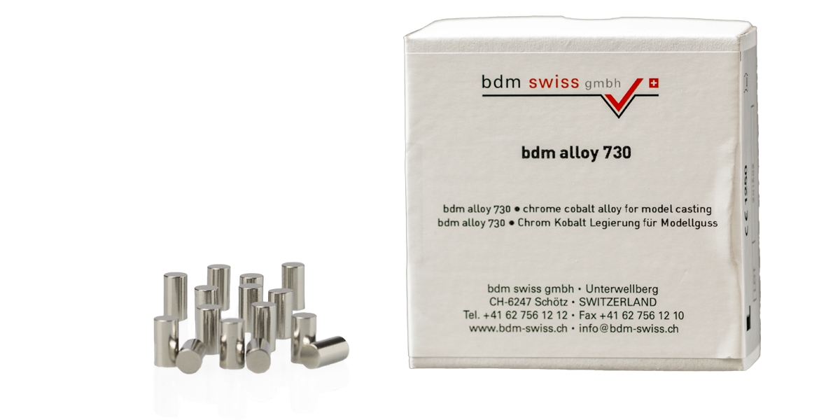 bdm alloy 730 chrome cobalt alloy for model casting