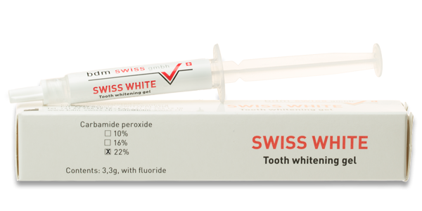 SWISS WHITE Tooth whitening gel 22%